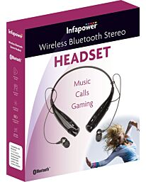 Infapower Bluetooth Stereo Headset (Black) X304