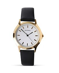 Sekonda Men's Classic Round Dial Leather Strap Watch 3136