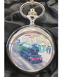 Boxx Picture Pocket watch Green Train P5061.42