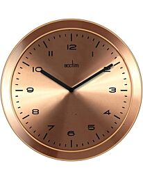 Acctim 29108 Dalston Ultra-Slim Gold Wall Clock 28cm