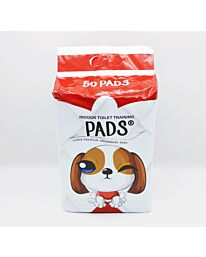 Indoor Toilet Training Dog Pads 56x56cm Pack of 50