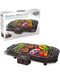 Quest 35910 Electric Portable Indoor BBQ Grill | Minimal Smoke | 2000W, 2000 W
