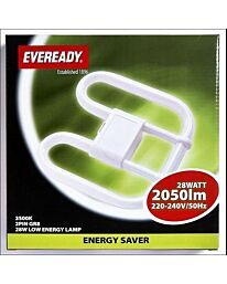 Eveready 2D Lamp 2 pin 28W 2050lm