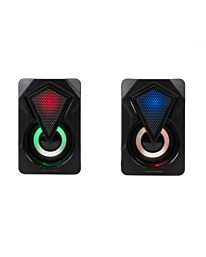 Intempo Colour Changing LED Gaming Speaker Set