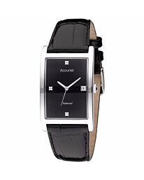 Accurist Men's Classic Date Leather Strap Wristwatch MS890BDIA
