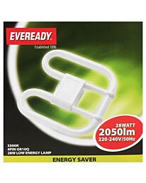 Eveready 28w Double D Lamp 4 pin