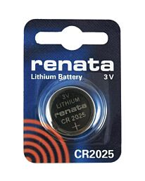 RENATA CR2025 LITHIUM BATTERIES (1pc only)