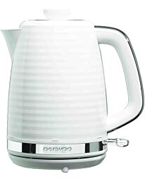 Daewoo Hive 1.7L 3KW Textured Kettle White