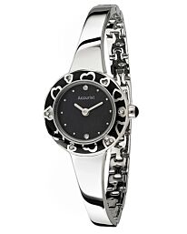 Accurist Ladies Charmed Enamel Watch  LB1844B