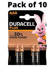 Duracell Simply AAA Alkaline Batteries Pack of 10