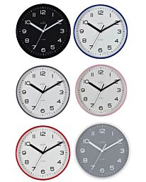 ACCTIM RUNWELL WALL CLOCK AVAILABLE MULTIPLE COLOUR