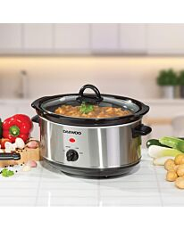 3.5L Slow Cooker Stainless Steel- SDA1364