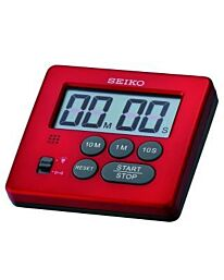 SEIKO Stopwatch & Timer QHY002R RED