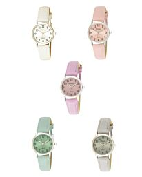 Ravel Women's Classic Easy Read Strap Watch R0138 Available Multiple Colour