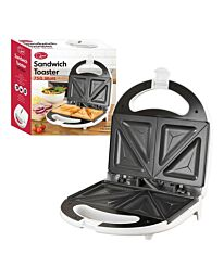 Quest Sandwich Maker Electric 4 section White Non-stick - 750w