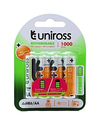 Uniross AA 1000 Hybrio Ready To Use