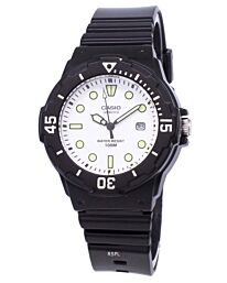 Casio Unisex Quartz Analog Rubber Strap Watch LRW-200H-7E1VDF
