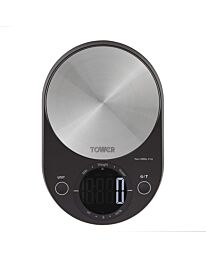 Tower black electronic scale- T876000bk