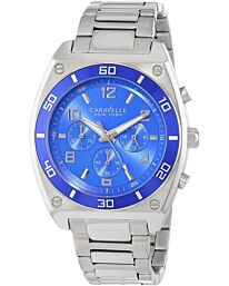 Caravelle New York Men's Clark Chronograph Bracelet Watch 45A109