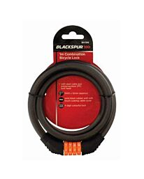 12mm x 1mt Combination Cable Lock