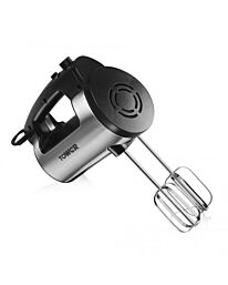 Tower T12016 Stainless Steel Hand Mixer with 6 Speed- T12016