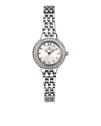 Accurist Women's Fashion Diamond Dial Silver Bracelet Watch 8281