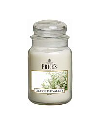 Price's Large Jar Candle Lily of the Valley PBJ010652