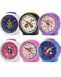 Ravel Kids Time Teacher Alarm Clock Multi Colour RC034
