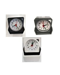 Amplus Bedside Travel Foldable Analogue Alarm Clock RV-0300 Available In Multiple Colours