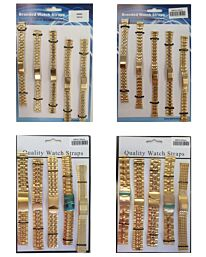 Watch Straps Metal Bracelet Gilt Available Sizes 12mm - 20mm 5001G