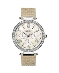 Ladies Caravelle New York Glitz Watch 43N102