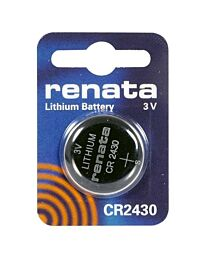 RENATA CR2430 LITHIUM BATTERIES  (1pc only)