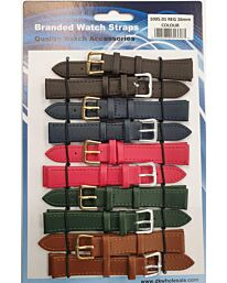 Pk10 Leather Straps multi dark colours 1005.01