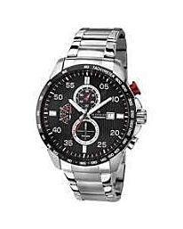Accurist Mens Analogue Classic Quartz Watch with Stainless Steel Strap MB1028R