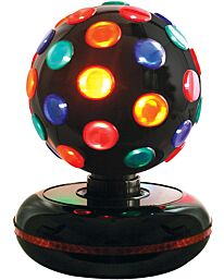 Global Gizmos 45830 Rotating 6-inch Disco Ball Light