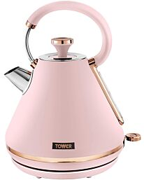 Tower Cavaletto 1.7L 3000W Pyramid Kettle - Pink/Rose Gold