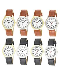 Ravel Men's Classic Leather Strap Watch R0132GC