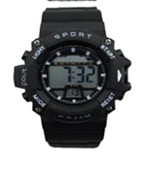 POLIT Gents LCD watch in Tin, assorted stlyes and colours CW-0031