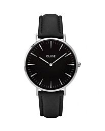 Cluse Womens Analogue Classic Quartz Watch with Leather Strap CL18201