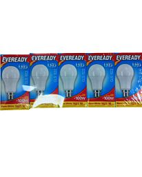 Eveready LED Candle 1521LM GLS B22  Warm White 100W Pack of 5