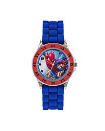Disney Spiderman Boy's Analogue Analog Quartz Watch with Silicone Strap SPD9048