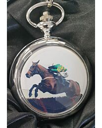 Boxx Picture Pocket watch Horse Jumping P5061.43