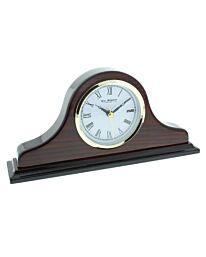 WIDDOP NAPOLEON SHAPED WOODEN MANTEL CLOCK W9616