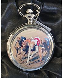 Boxx Picture Pocket watch Dog Racing P5061.21