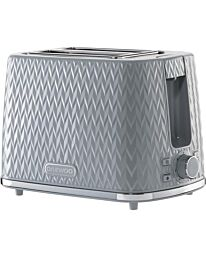 Daewoo Argyle 2 Slice toaster Dark Grey SDA1821