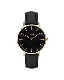 CLUSE Womens Analogue Classic Quartz Connected Wrist Watch with Leather Strap CL18401