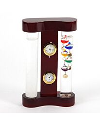 Wm. Widdop Galileo Thermometer - 33cm Multi Coloured 5 Bulb
