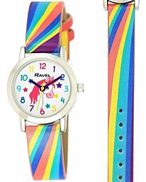 Ravel Childrens Unicorns and Rainbows Watch R1810.1
