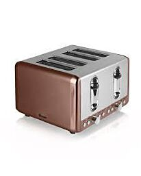 SWAN 4 Slice Copper Toaster- ST14050COPN