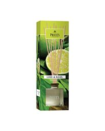Price's Candles Fragrance Collection Reed Diffuser –  Lime & Basil PRD010490